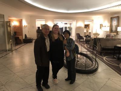 家族とともにコペンハーゲンの友達に会いました