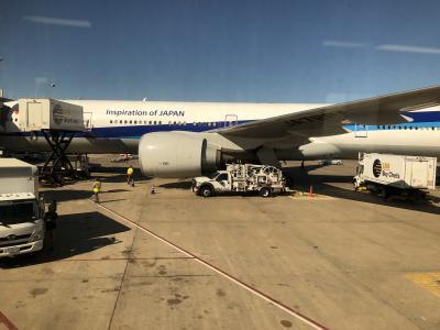 NH 002 001便 ダレス空港往復 ビジネスクラス - 乗る度に シェフ腕上げる 機内食 -