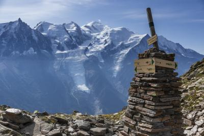 初秋のシャモニーとラヴォーを巡る旅(2) ブレヴァンからプランプラへのハイキング