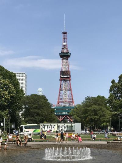 2019夏 東京からの帰りに札幌に寄り道してみた!-平日お寿司ランチと白い恋人パークー