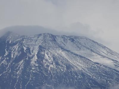 富士山の初冠雪を確認しました 2019.10.22