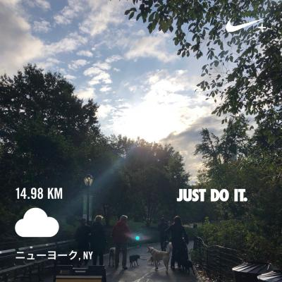 Autumn in New york Birthday trip ** Day2 聖地セントラルパークmorning run 編 *4