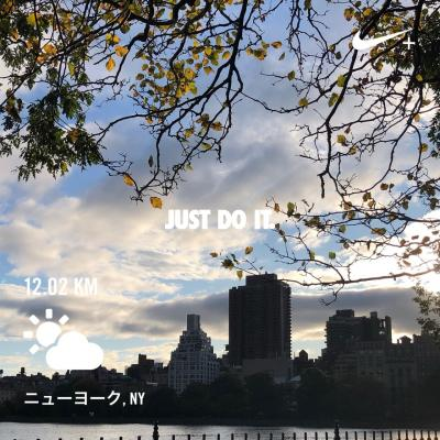 Autumn in New york Birthday trip ** Day3 GGアッパーイーストサイドmorning run編 *7
