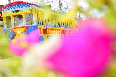 豊橋の路面電車を走る「花電車」の追いかけと豊橋まつりに訪れてみた