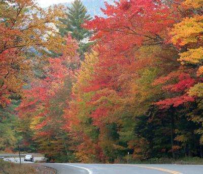 団塊夫婦の2019年北米紅葉ドライブ旅行ー(6)ニューハンプシャー州からバーモント州・ストウへ
