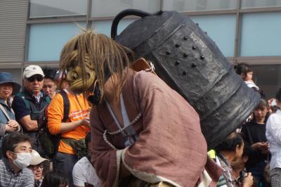 上野天神祭りから名古屋まつりへ(前半)~藤堂高虎にまつわる鬼行列の起源。神輿にだんじりが加わって多相な趣きですが、やっぱり主役は鬼たちかな~