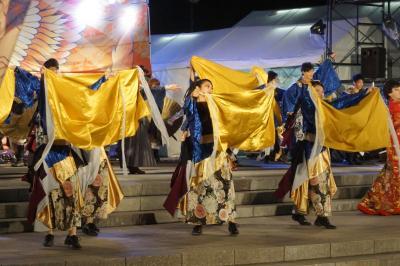 上野天神祭りから名古屋まつりへ(後半)~名古屋まつり夜の部は久屋大通りでにっぽんど真ん中祭りの熱い演舞を拝見。大須大道町人祭もまた一興です~