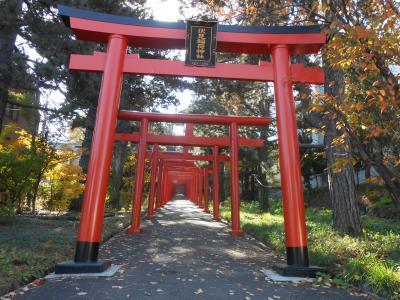 紅葉を観に札幌伏見稲荷神社を訪れる 2019