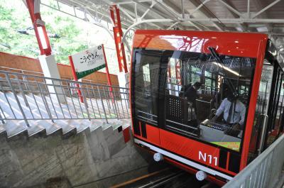 2019年10月日帰り関西鉄道旅行2(高野山ケーブルに乗って帰りは天空号に乗ります)