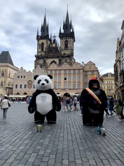さわやか中欧7日間2日目②プラハ カレル橋・旧市街