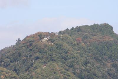 備中松山城にドライブ