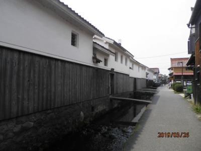 白壁土蔵の町 倉吉