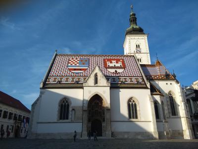 ベネチア~スロベニア~ザグレブまでアドリア海周遊の旅 (4)ザグレブ
