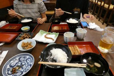 和食蒲焼 高田屋の昼食