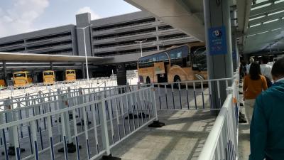 地歩に無いマカオ旅行001:マカオ市内から、バスを乗り継いで、香港国際空港に行く-02