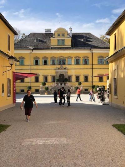 ゆっくりヘルブルン宮殿散策後にホーエンザルツブルク城へ