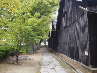 北前船の歴史が残る街、酒田