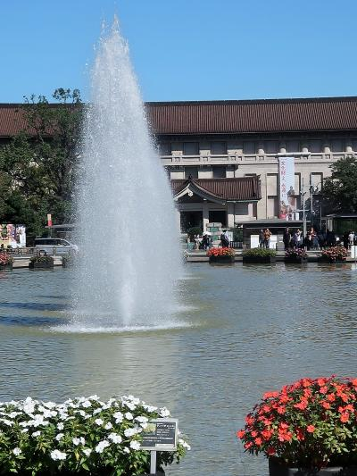 東京国立博物館-1 竹の台噴水-本館-東洋館 ☆名品鑑賞ゆっくりと/平成館は入場制限中