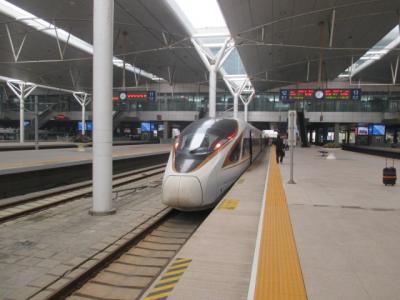 シニアの横浜~天津 片道クルーズと天津北京散策後、DELTAマイルで帰国 ④新幹線で北京移動 市バス82番の旅