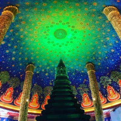 結婚1周年記念タイ旅行①~バンコク寺院巡り編~
