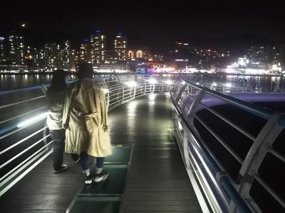 193回目訪韓は後輩2人をアテンド旅行、釜山&浦項へ(2019/11/2土~4月)②/⑥松島海上ケーブルカー&松島スカイウォーク