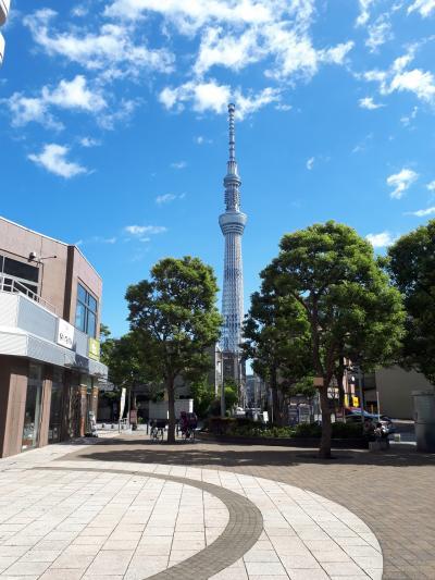 ぶらり東京散歩 浅草と東京スカイツリー