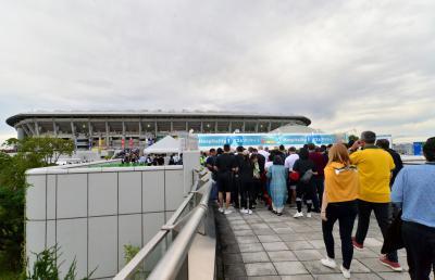 サポーターの数で勝ったニュージーランド ポイントの数で負けたニュージーランド 台風の攻撃から横浜市民を守った日産スタジアム
