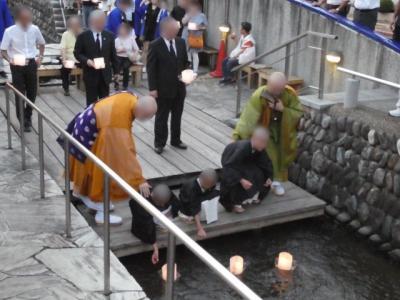 埼玉・熊谷の灯篭流し2019