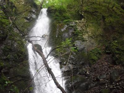 鷹ノ巣谷 小滝・大滝が続く沢登り