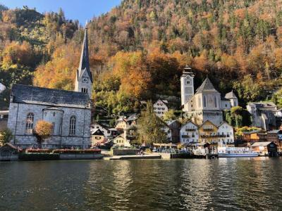 ハルシュタット湖とザルツブルク城でのモーツァルトコンサート鑑賞