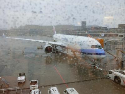 2019.10台湾① チャイナCI-101便は滑走路で3時間動かなかったけど嬉しかったの巻