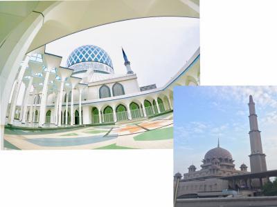 マレーシアトランジットで空港からブルーモスクとピンクモスクをGRUBで移動した料金