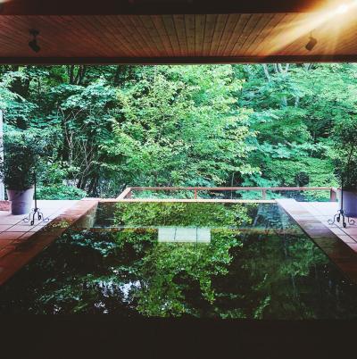 松本でのんびり女子旅 【森の奥にあるレトロでおしゃれな宿に宿泊】