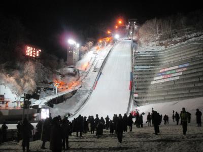 2018シーズン札幌スノボー遠征第5弾② アイスホッケー&スキージャンプ観戦&ジンギスカン (後編)