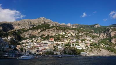 南イタリアの夏休み2019年②カプリ島とポジターノ