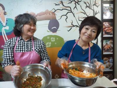 西宮の友人と韓国文化体験をした旅