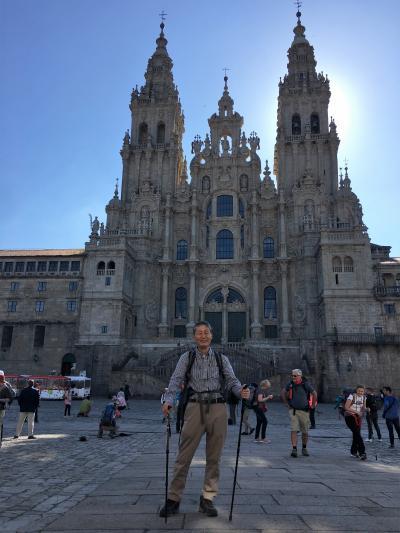 アンダルシアの春祭りから銀の道、そして巡礼の道を歩く 25 巡礼10日目  Santiago de Compostelaまで13.1km
