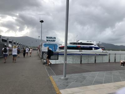 ケアンズ⑥グリーン島でグレートバリアリーフ!だが帰りの便が欠航