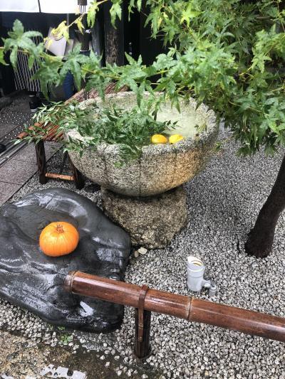 もみじはまだか嵐山、福田美術館で橋本関雪、京博では三十六歌仙絵を見た