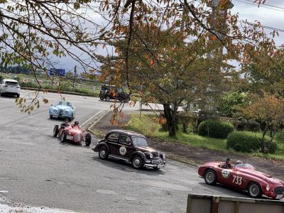 偶然にも「La Festa Mille Miglia 2019」道の駅喜多の郷でランチ休憩