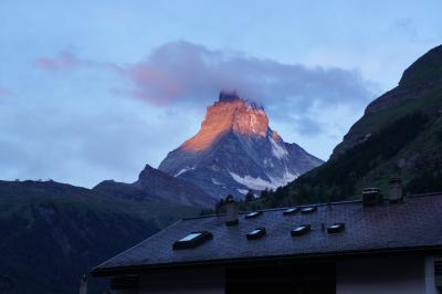 スイス母娘旅 DAY4 前編 マッターホルンを見ながらハイキング~♪