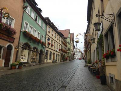 秋の中欧をオヤジ一人旅2 ヴュルツブルク、ローテンブルク