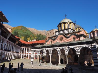 2019.10 ブルガリア・ルーマニアの旅 ②ボヤナ リラの僧院