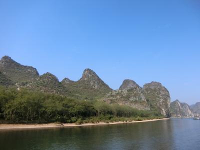 友人と桂林観光