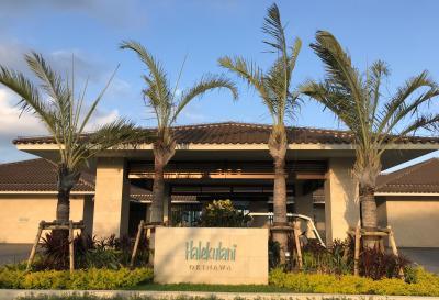 沖縄記念日旅行③ ハレクラニ沖縄、SHIROUXで記念日ディナー