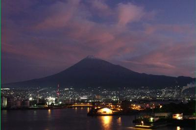飽きもせず再び夜明けの田子の浦港に 2019.10.26