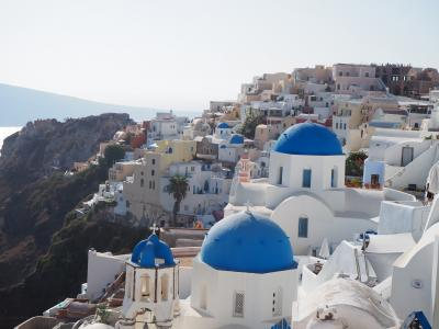 白い街と遺跡の街を満喫!ギリシャの旅 1