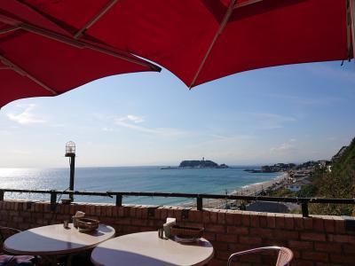 七里ヶ浜のアマルフィ―デラセーラでオシャレランチ。食後は鎌倉ブラブラ