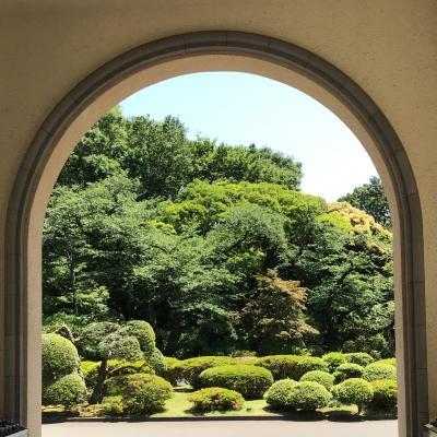 中欧の旅から帰国後の東京滞在あれこれ♪★五月晴れの旧朝香宮邸の東京都庭園美術館☆