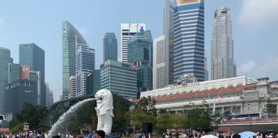 シンガポール航空で行く初めてのシンガポール3泊4日☆夫婦二人旅☆1日目